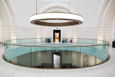 First floor of the Remembrance Hall, which is accessible via Aberdeen Art Gallery in Aberdeen, Scotland. The art gallery re-opened to the public in November 2019 following a £34.6 million redevelopment that links it to the adjacent Cowdray Hall and Remembrance Hall.